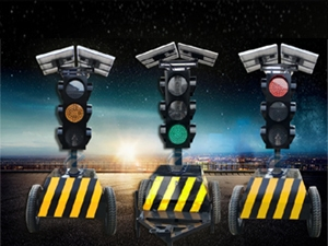 拖车式yi动信号灯HSD-XHD6